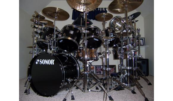 Drum kit replicas and inspirations