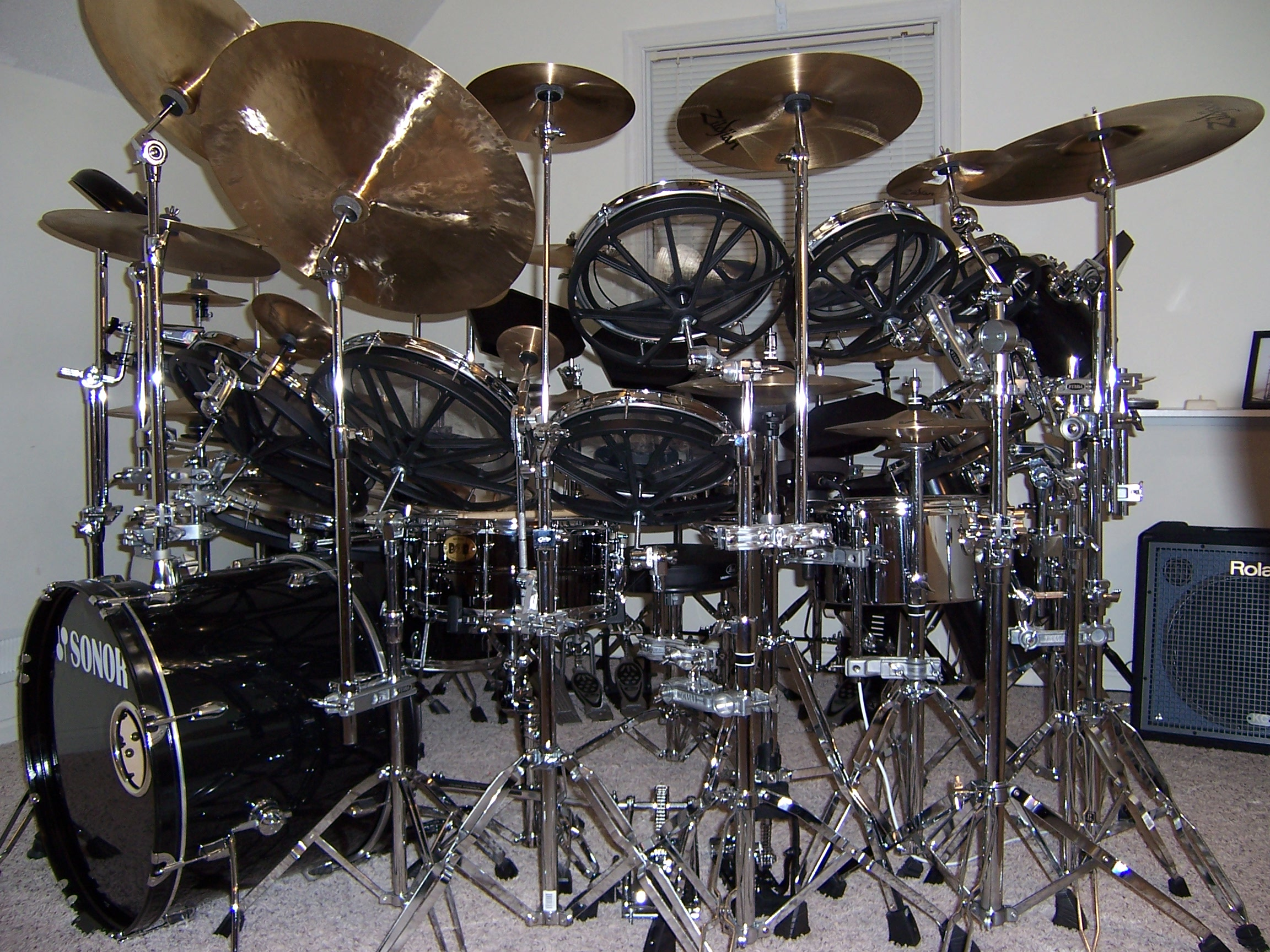 The Evolution Of S Rorkes Drums