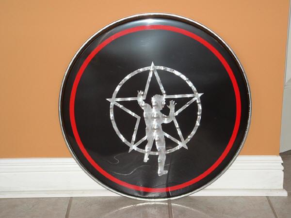 alan walker replica bass drum heads. Black Bedroom Furniture Sets. Home Design Ideas