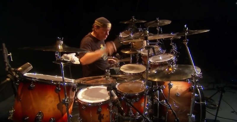 Neil Peart Drum Set 2112 Pearts Time Mach