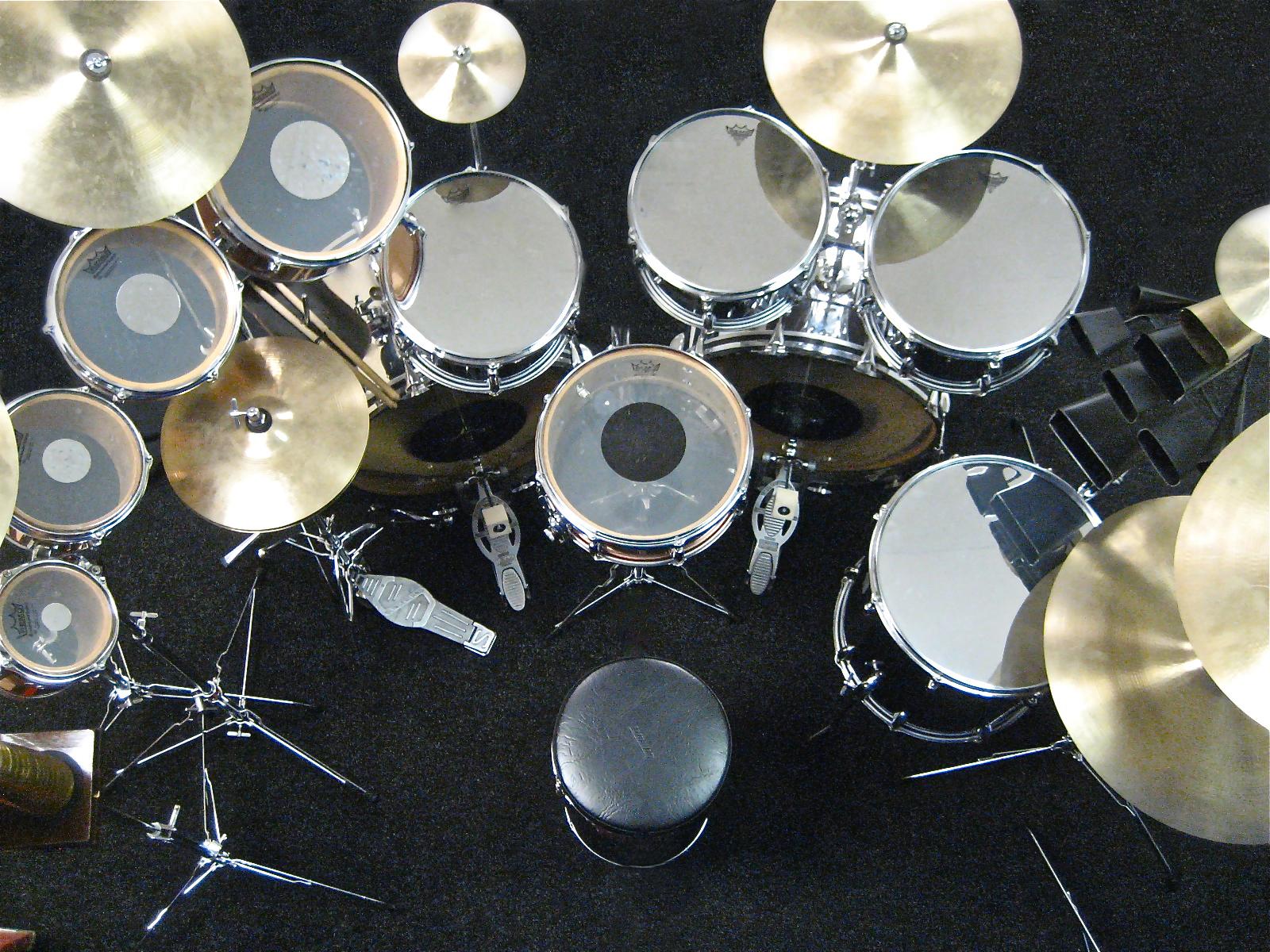 Neil Peart Chromey Drums