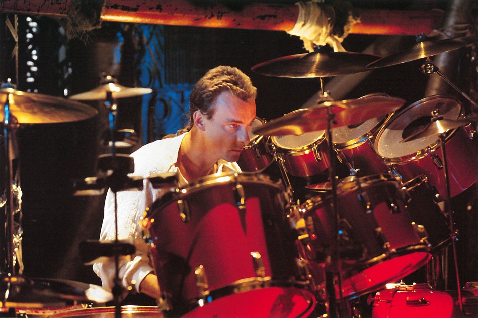 Neil Peart Grace Under Pressure Drums
