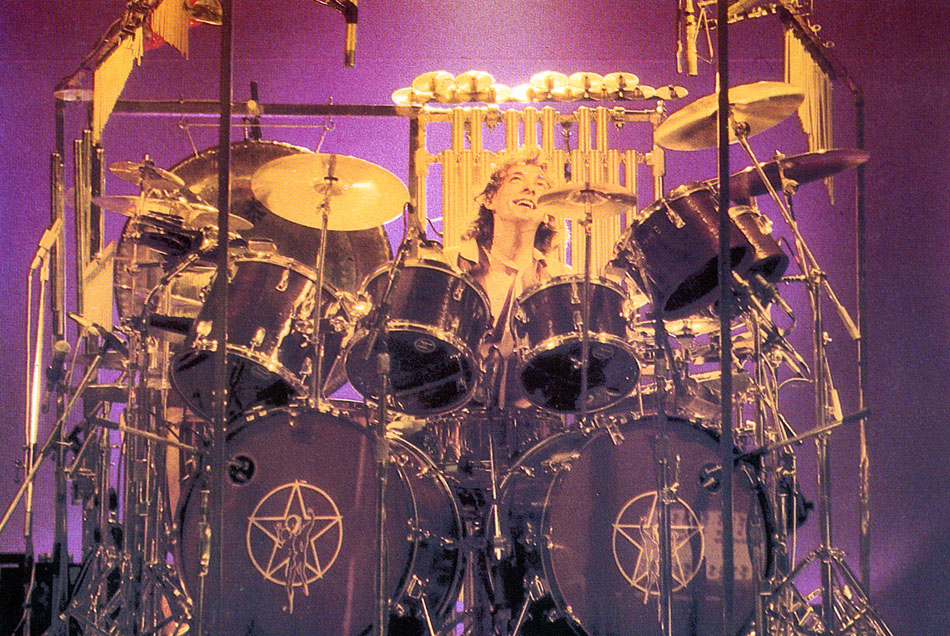 Neil Peart Permanent Waves Drums