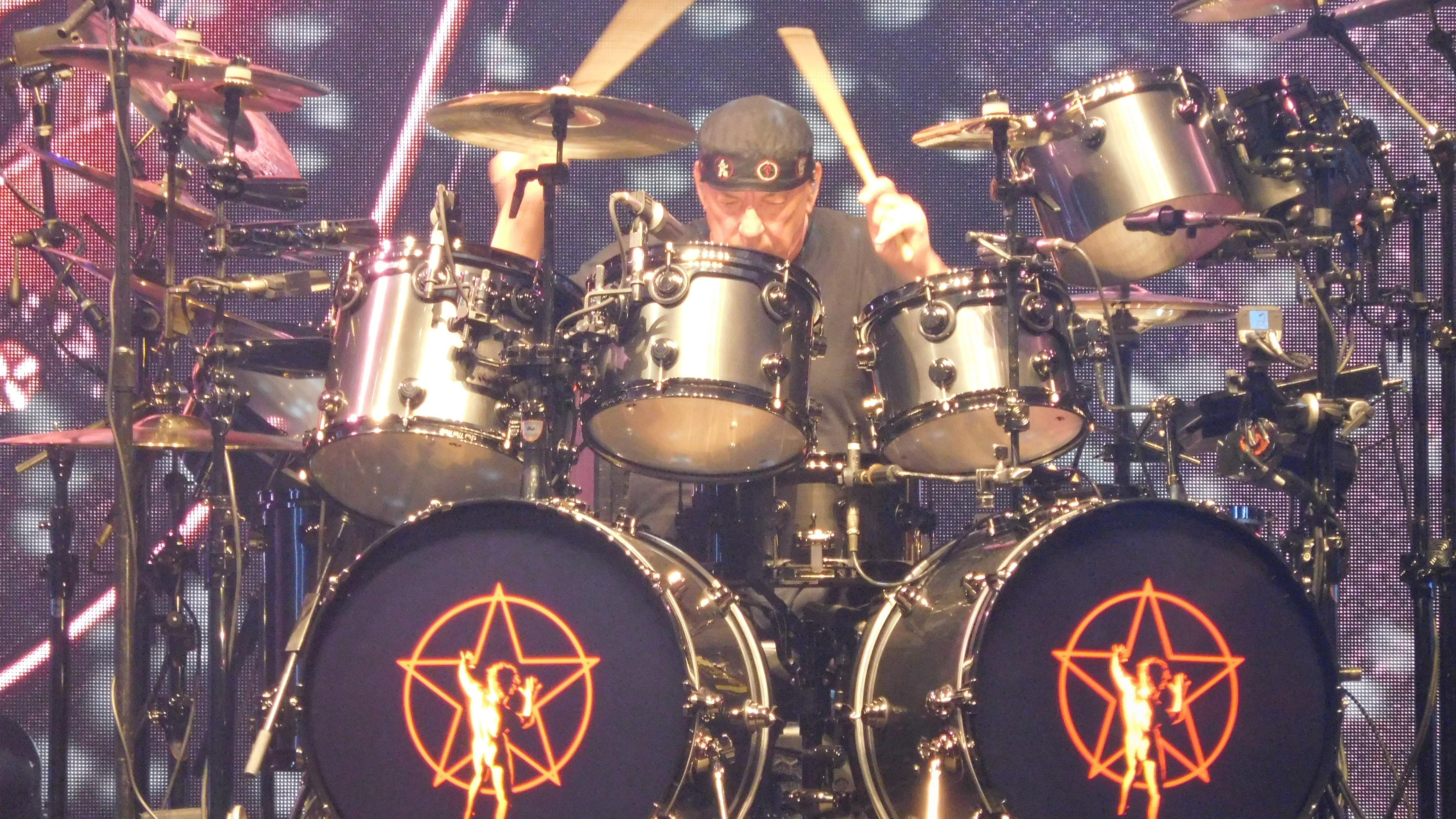 Neil Peart S R40 Retro Drums