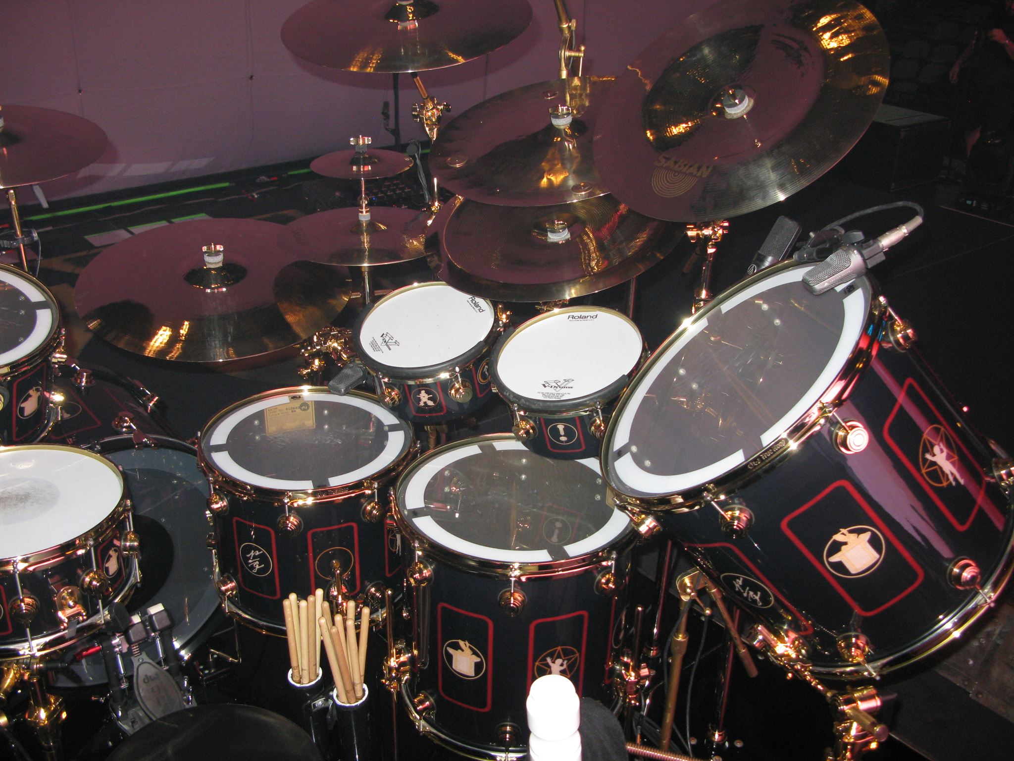 Neil Pearts R40 Drums Snare Drum Photography For Diagram Kit Courtesy Of Michael Df Lowe