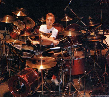 Neil Peart Power Windows Drums