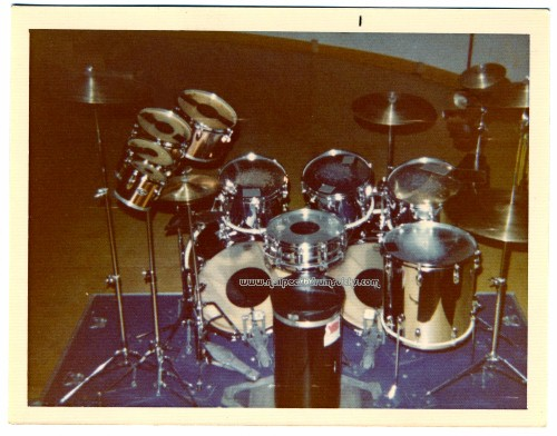 Neil Peart Caress Of Steel Drums
