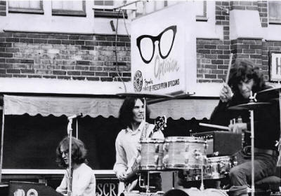 Neil Peart with J.R. Flood - 1970