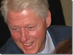 Bill Clinton in Seattle