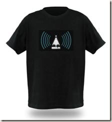 ThinkGeek's Wi-Fi detector shirt