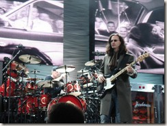 Geddy and Neil at Clark County - photo by Monica Z