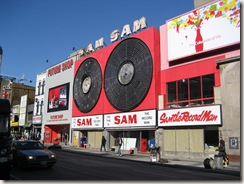 Picture of Sam the Record Man in Toronto