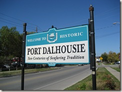 Port Dalhousie sign